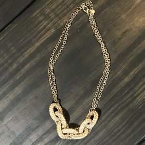Pave Link Necklace from Target